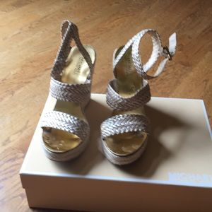 Wedge summer shoes